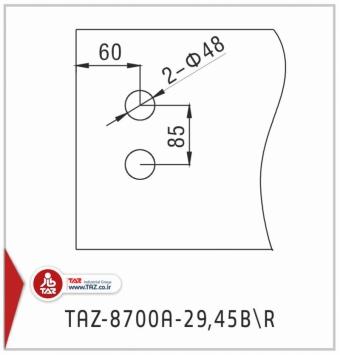 TAZ-8700A-29,45BR