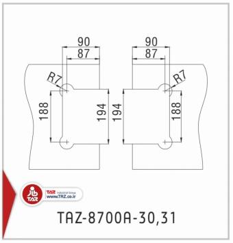 TAZ-8700A-31,30