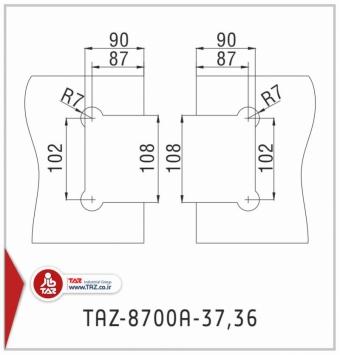 TAZ-8700A-37,36