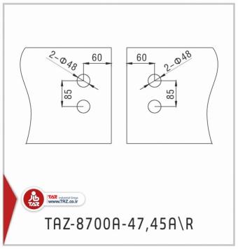 TAZ-8700A-47AL,45AR