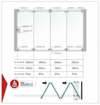 درب آکاددئونی سری : TAZ-8700