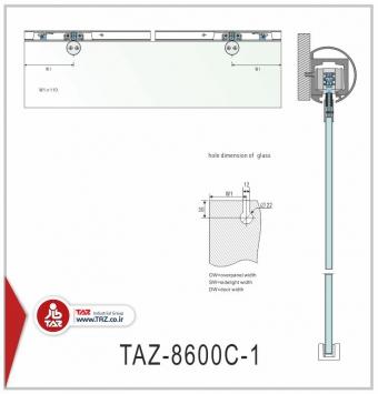 درب متحرک سری: TAZ-8600C-1
