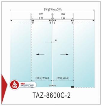 درب متحرک سری: TAZ-8600C-2