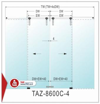 درب متحرک سری: TAZ-8600C-4