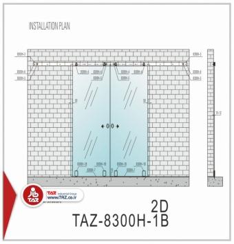 درب متحرک سری: TAZ-8300H-1B