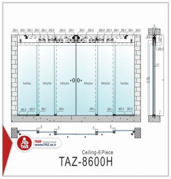 درب متحرک سری: TAZ-8600H-1B