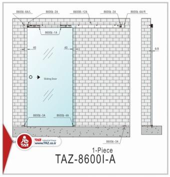 درب متحرک سری: TAZ-8600I-A