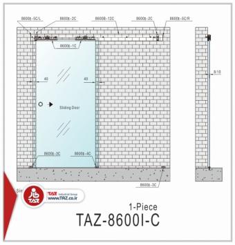 درب متحرک سری: TAZ-8600I-C