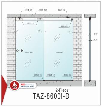 درب متحرک سری: TAZ-8600I-D