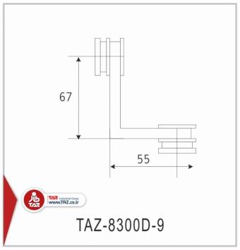 TAZ-8300D-9